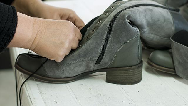 Footwear Finishing