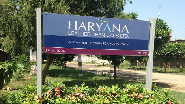 Haryana Leather Chemicals Banner